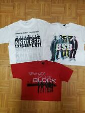Lot Of 3 New Backstreet Boys/ New Kids On The Block Concert T-Shirts S