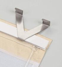 EASYFIX Fensterhaken für Raffrollo Metall 2er Pack
