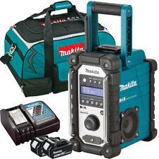 Makita DMR109 10.8v-18v LXT/CXT Job Site Radio + 2 x 4.0Ah BL1840, DC18RC & Bag