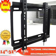 "Ultra Slim LCD LED TV Wall Mount Bracket for Plasma 14 19 22 26 27 28 29 32"" UK"