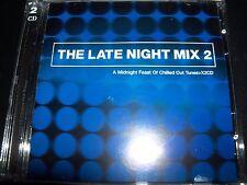 Late Night Mix Vol 2 Various Chillout CD Coldplay Moby Morcheeba Doves Moloko &