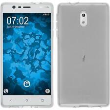 Coque en Silicone Nokia 3 - transparent Crystal Clear + films de protection