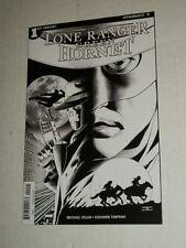Dynamite LONE RANGER GREEN HORNET #1 1:25 Black & White Sketch Variant NM