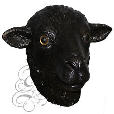 Latex Overhead Farm Animal Black Sheep Aquatic Fancy Props Carnival Party Mask