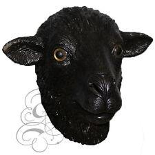 Latex Overhead Farm Animal Black Sheep Aquatic Fancy Props Carnival Party Mask