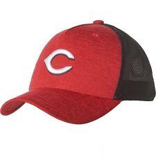 NWT Under Armour Youth Boy's Cincinnati Reds Twist Trucker Cap Mesh Baseball Hat