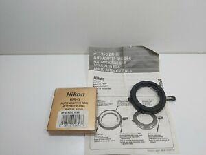 Nikon BR-6 Macro Adapter Ring new boxed