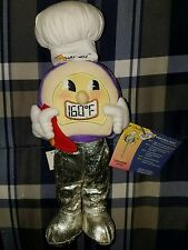 """NEW Thermy Plush Toy USDA Food Safety Temperature Collectible ~Talks~ 10"""" VHTF"""