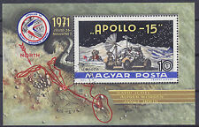Hungary 1972 Apollo 15 Moon Flight MS FU SGMS2646 Cat £3.25