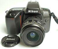 Nikon F70 con Nikkor AF 35-80/4-5,6 D