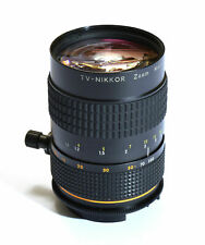 Extremely Rare - Nikon TV-Nikkor Zoom Macro 12.5 - 100mm 1:1.6 f/1.6 lens