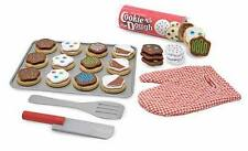 WOODEN SLICE & BAKE COOKIE SET, Play Food ~ Melissa & and Doug  Item # 4074