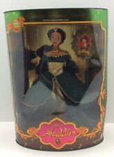 Holiday Princess Jasmine Barbie Doll Walt Disney Aladdin Mattel 1993