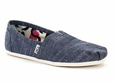 1A-PADF-SN5DToms Women's Classic Flats (12, chambray)