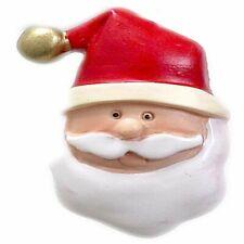 "Carnation Home ""Santa Claus"" Resin Shower Curtain Hooks"