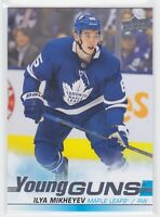 19/20 UD...ILYA MIKHEYEV...YOUNG GUNS..# 210..MAPLE LEAFS..FREE COMBIED SHIPPING