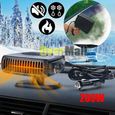 200W Car Portable Ceramic Heating A/C Cooling Heater Fan Defroster Demister 12V