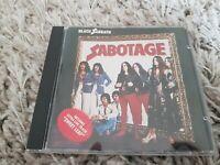 Black Sabbath SABOTAGE rare Bonus live track cd  nelcd 6018 album lp 1986