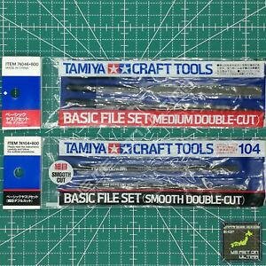 Tamiya Basic File Set (Medium 74046 / Smooth 74104) /TRACKED & COMBINED SHIPPING