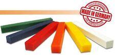 Knetwachs Wachs Modellierwachs (Grundpreis12,82m) 6 Farben sortiert 9 cm  x 1 cm