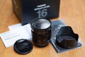 Fujifilm Fujinon XF 16463670 16mm f1.4 R WR Lens - Black