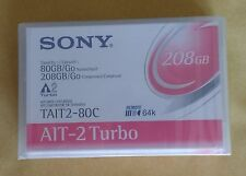 Sony TAIT2-80C 80GB/208GB AIT-2 Turbo Data Cartridge - New, Sealed tapes