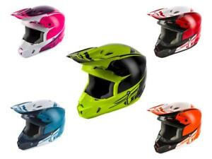 2019 Fly Racing Kinetic Sharp Adult Helmet Motocross ATV Off Road Dirt Bike