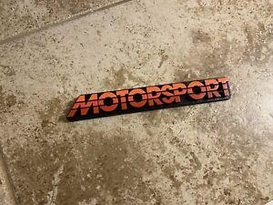 Old Ford Motorsport Lincoln Mercury Trunk/Hatch Style Emblem