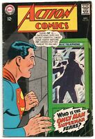 Action Comics 355 DC 1967 FN Superman Supergirl Telephone Booth Curt Swan
