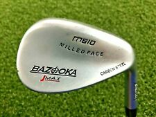 Tour Edge Bazooka JMax Milled Face Gap Wedge 52* / RH / Wedge Flex Steel /dw6882