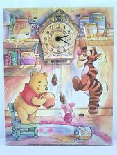 Winne the Pooh Clock - beautiful painted effect