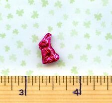 DOLLHOUSE Miniature size Sue/'s Foil Covered Easter Bunny PINK