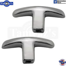 62-64 Impala SS Bucket Seat Adjuster Knob Grab Handle - Trim Parts Brand PAIR
