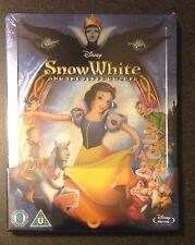 Disney SNOW WHITE & THE SEVEN DWARFS Blu-Ray SteelBook Zavvi UK 1st Ed OOP Rare!
