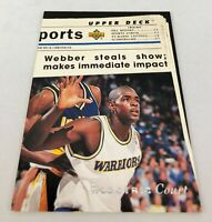 1993-94 Upper Deck Special Edition Electric Court Chris Webber #207 Rookie NM