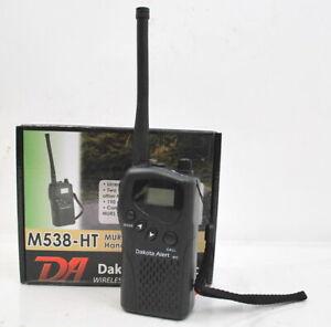 Dakota Alert M538-HT MURS Hand Held 2-Way Radio Transceiver NEW