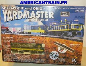 Coffret de départ Chesapeak & Ohio Yardmaster 3 rails échelle O K-line