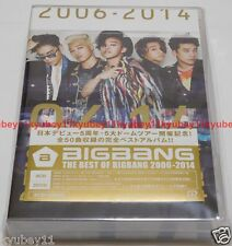 New THE BEST OF BIGBANG 2006-2014 3 CD 2 DVD Japan AVCY-58270 EMS Free Shipping