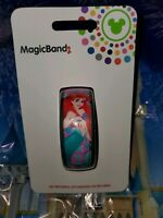 Disney World ARIEL LITTLE MERMAID PINK Magic Band 2.0 Magicband Link It Parks