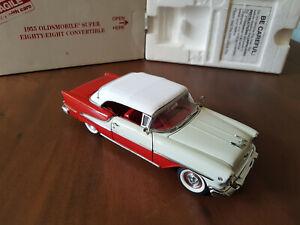 Franklin/Danbury Mint 1:24 Oldsmobile Super 88 Convertible OVP Neuwertig