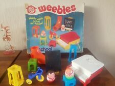 VERY RARE, VINTAGE 1970'S AIRFIX  WEEBLE PLAYSCHOOL BOXED