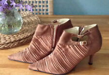 Stunning Ladies Satin  Ankle Boots / heels UK Size 38