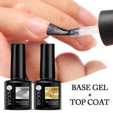 UR SUGAR 7.5ml Nagel Gellack No Wipe Top Coat Base Gel Nail Art Gel UV Soak off