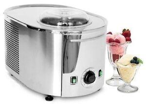 Musso GELATIERA MINI con compressore Ice Cream Machine INOX- NUOVA-made in ITALY