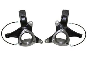 """4.5"""" front spindles lift kit for 2007-18 chevy silverado 1500 2wd maxtrac 701345"""