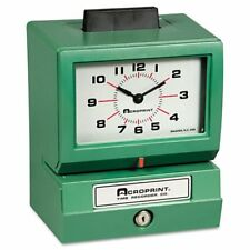 Acroprint Model 125 Time Clock - Card Punch/stamp - 100 Employee (011070413)