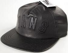 872cb410c98 Vans Blackout Leather baseball Hat-NEW-skate surf cap-perf vinyl-
