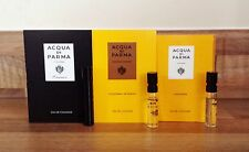 3 x Acqua Di Parma Colonia, Essenza & Intensa EDC Unisex Sample Vial Spray