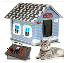 Petyella Heated Pet House for Outdoor Pets up to 25 lbs - OPEN BOX