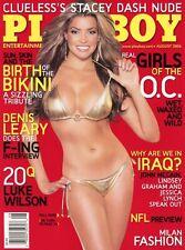 PLAYBOY AUGUST 2006 Monica Leigh Nicole Voss Denis Leary Luke Wilson OC Girls
